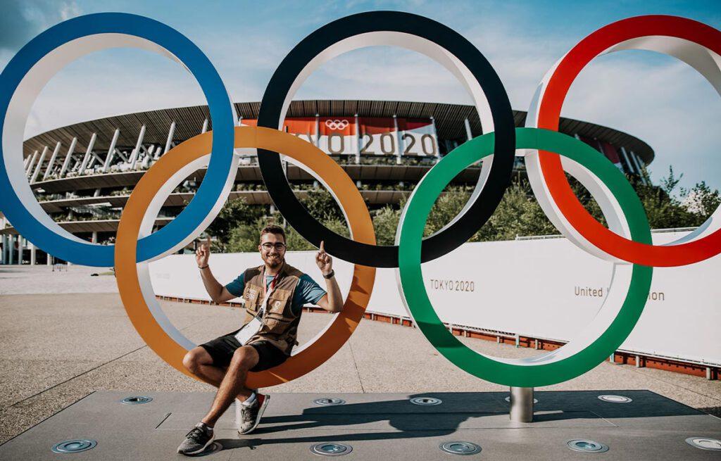 Tom Weller Fotojournalist bei Olympia 2020 in Tokio