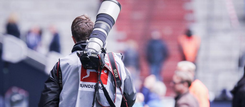 Tom Weller Fotojournalist bei der Bundesliga